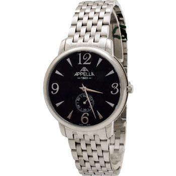 Швейцарские наручные  мужские часы Appella 4307-3004. Коллекция Classic
