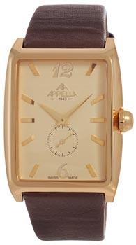 Швейцарские наручные  мужские часы Appella 4339-1012. Коллекция Classic