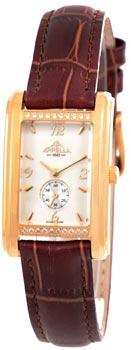 Швейцарские наручные  женские часы Appella 4346A-1011. Коллекция Leather
