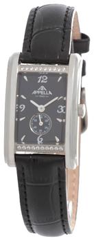 Швейцарские наручные  женские часы Appella 4346A-3014. Коллекция Leather