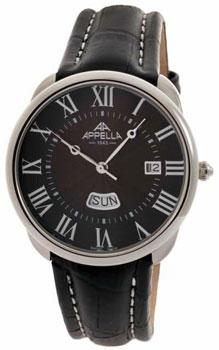 Швейцарские наручные  мужские часы Appella 4369-3014. Коллекция Classic