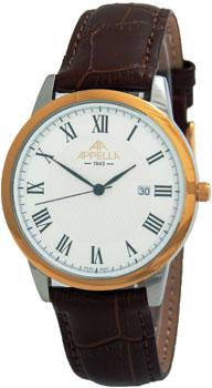 Швейцарские наручные  мужские часы Appella 4373-2011. Коллекция Classic