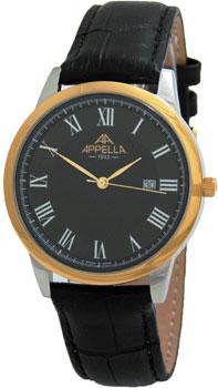 Швейцарские наручные  мужские часы Appella 4373-2014. Коллекция Classic