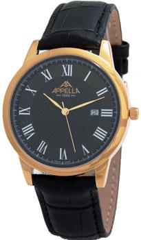 Швейцарские наручные  мужские часы Appella 4373-3014. Коллекция Classic