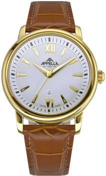 Швейцарские наручные  мужские часы Appella 4375-1011. Коллекция Classic