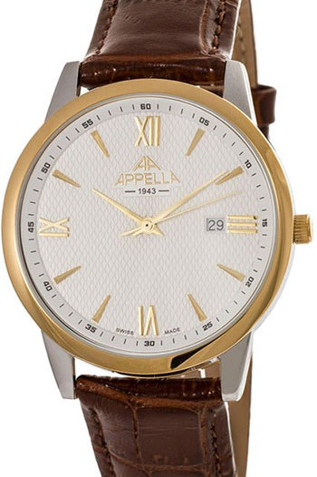 Мужские наручные швейцарские часы в коллекции Classic Appella