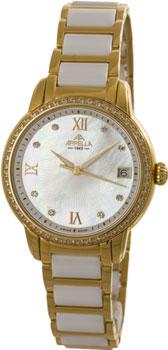 Швейцарские наручные  женские часы Appella 4382-11001. Коллекция Ceramic