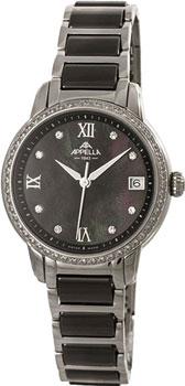 Швейцарские наручные  женские часы Appella 4382.43.1.0.04. Коллекция Ceramic