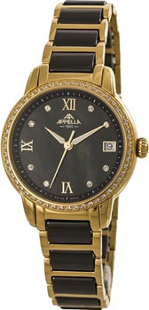 Швейцарские наручные  женские часы Appella 4382.44.1.0.04. Коллекция Ceramic