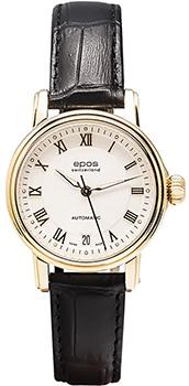 Швейцарские наручные  женские часы Epos 4390.152.22.20.15. Коллекция Ladies