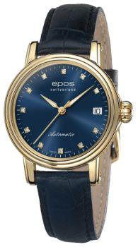 Швейцарские наручные  женские часы Epos 4390.152.22.86.16. Коллекция Ladies