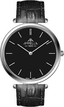Швейцарские наручные  мужские часы Appella 4397.03.0.1.04. Коллекция Classic