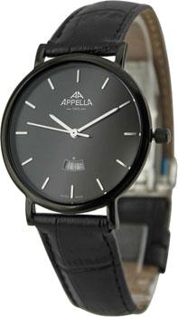 Швейцарские наручные  мужские часы Appella 4403.07.0.1.04. Коллекция Classic