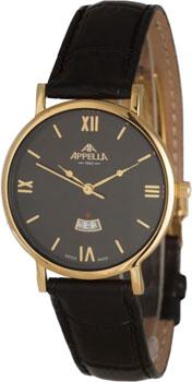 Швейцарские наручные  мужские часы Appella 4405.01.0.1.04. Коллекция Classic