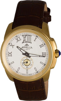 Швейцарские наручные  мужские часы Appella 4413.01.0.1.01. Коллекция Dress watches