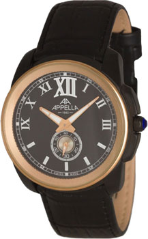 Швейцарские наручные  мужские часы Appella 4413.08.0.1.04. Коллекция Dress watches