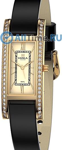 Женские наручные золотые часы в коллекции Роза Ника