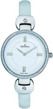 Швейцарские наручные  женские часы Grovana 4481.7532. Коллекция Traditional
