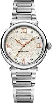Швейцарские наручные  женские часы Doxa 460.15.052.10. Коллекция Classic