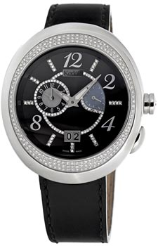 Швейцарские наручные  мужские часы Korloff 46DTIB499.A5575