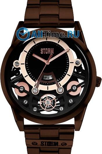 Мужские наручные часы в коллекции Mechron Storm