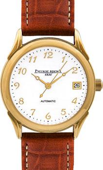 Российские наручные  мужские часы Russian Time 4926235. Коллекция Мужские механические часы