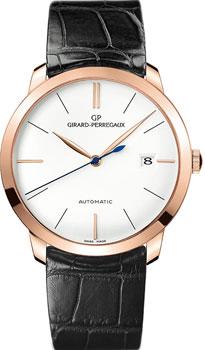 Швейцарские наручные  мужские часы Girard Perregaux 49527-52-131-BK6A