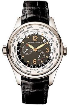 Швейцарские наручные  мужские часы Girard Perregaux 49850-53-251-BA6D