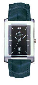 Швейцарские наручные  мужские часы Appella 499-3014. Коллекция Classic