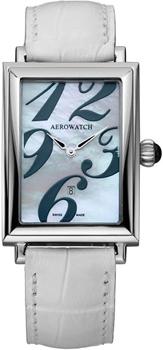 Швейцарские наручные  женские часы Aerowatch 49943-AA02. Коллекция Long Beach