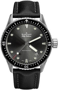 Швейцарские наручные  мужские часы Blancpain 5000-1110-B52A