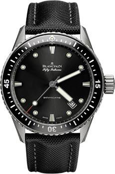 Швейцарские наручные  мужские часы Blancpain 5000-1230-B52A