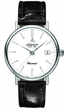 Швейцарские наручные  мужские часы Atlantic 50341.41.11. Коллекция Seacrest
