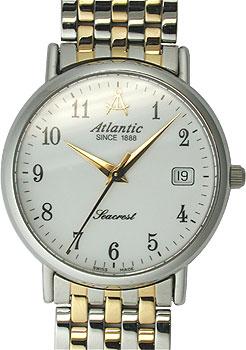 Швейцарские наручные  мужские часы Atlantic 50345.43.13. Коллекция Seacrest