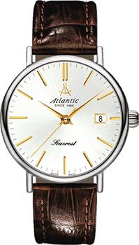 Швейцарские наручные  мужские часы Atlantic 50351.41.21G. Коллекция Seacrest