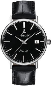 Швейцарские наручные  мужские часы Atlantic 50351.41.61. Коллекция Seacrest