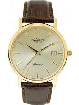 Швейцарские наручные  мужские часы Atlantic 50351.45.31. Коллекция Seacrest