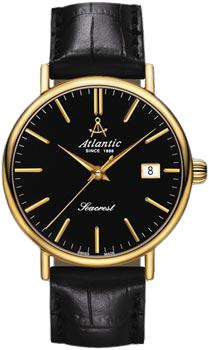 Швейцарские наручные  мужские часы Atlantic 50351.45.61. Коллекция Seacrest