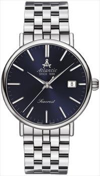 Швейцарские наручные  мужские часы Atlantic 50356.41.51. Коллекция Seacrest