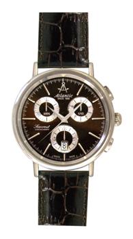 Швейцарские наручные  мужские часы Atlantic 50441.41.81. Коллекция Seacrest