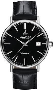 Швейцарские наручные  мужские часы Atlantic 50741.41.61. Коллекция Seacrest