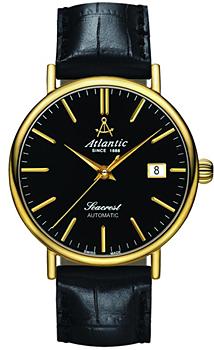 Швейцарские наручные  мужские часы Atlantic 50744.45.61. Коллекция Seacrest