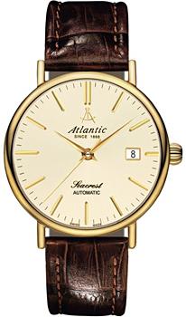 Швейцарские наручные  мужские часы Atlantic 50744.45.91. Коллекция Seacrest