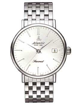 Швейцарские наручные  мужские часы Atlantic 50748.41.21. Коллекция Seacrest