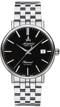 Швейцарские наручные  мужские часы Atlantic 50749.41.61. Коллекция Seacrest