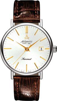 Швейцарские наручные  мужские часы Atlantic 50751.41.21G. Коллекция Seacrest