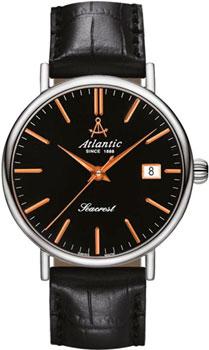 Швейцарские наручные  мужские часы Atlantic 50754.41.61R. Коллекция Seacrest