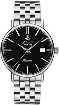 Швейцарские наручные  мужские часы Atlantic 50756.41.61. Коллекция Seacrest