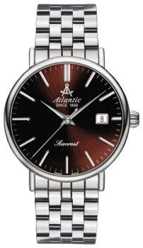 Швейцарские наручные  мужские часы Atlantic 50756.41.81. Коллекция Seacrest