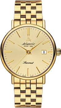 Швейцарские наручные  мужские часы Atlantic 50756.45.31. Коллекция Seacrest
